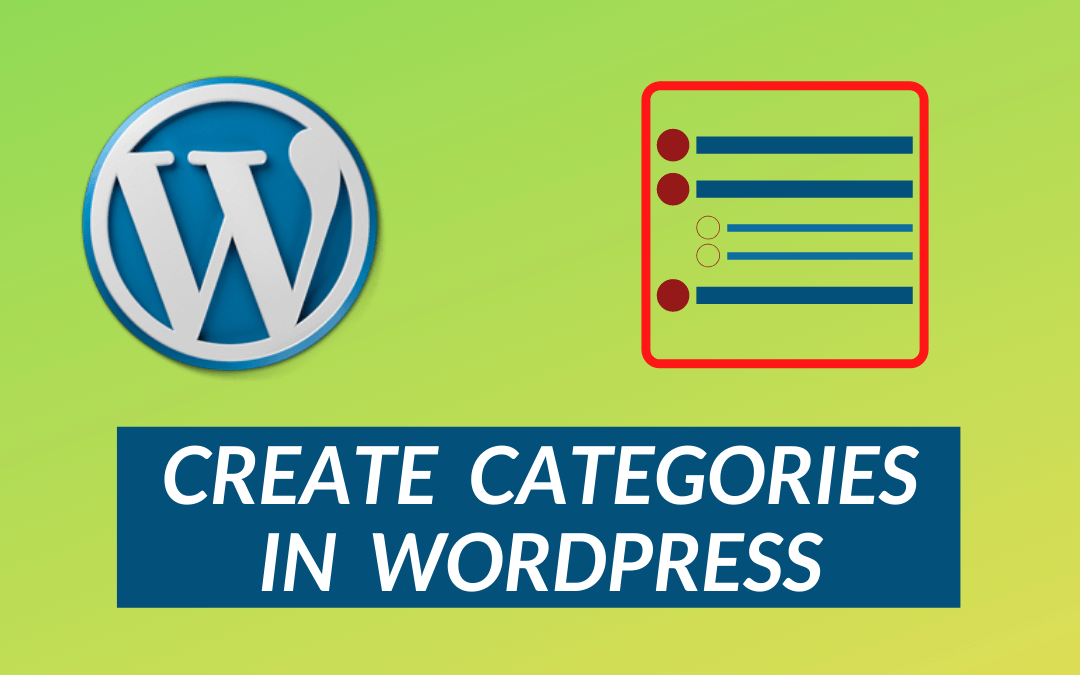 How to Create a Category in WordPress?